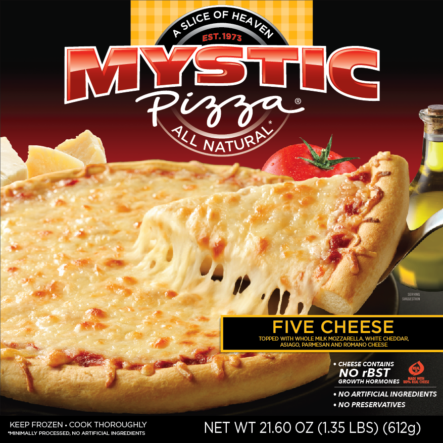 Mystic Pizza Five Cheese Flavor