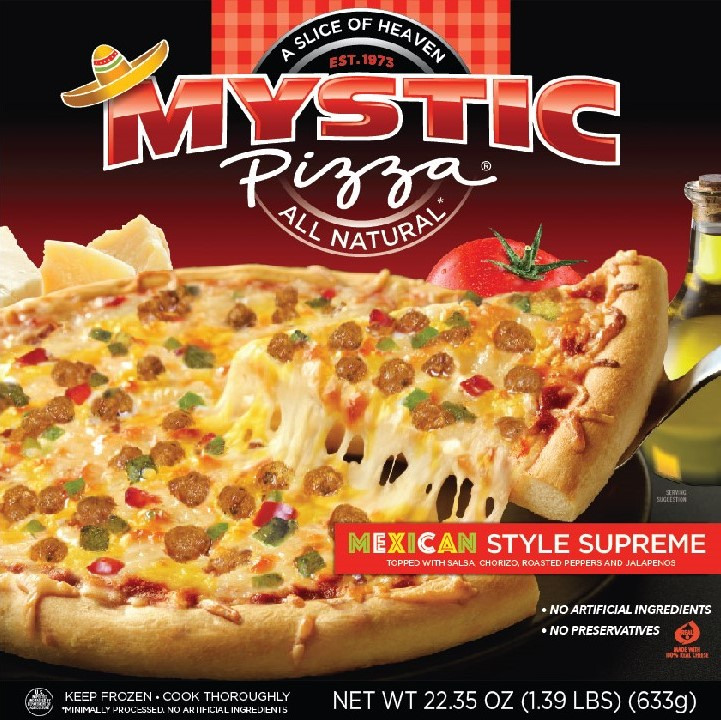 Mystic Pizza Mexican Supreme Flavor